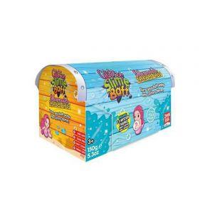 Gelli Baff Mermaid Treasure Chest Box - Aqua Blue