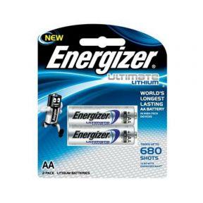 Energizer Lithium Aa Batteries - 2pk