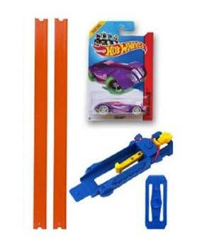 HotWheels Track Builder Pack (Assorted Colour)