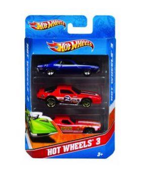 HotWheels Assortment Cars - 3 Pack (Assorted)
