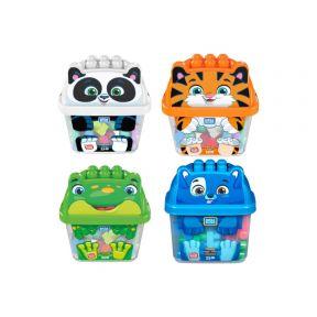 Mega Bloks Animal Bucket (Assorted Colour)