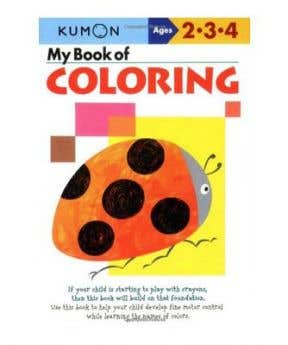 Kumon My Book of Coloring (Age 2-4 Years)