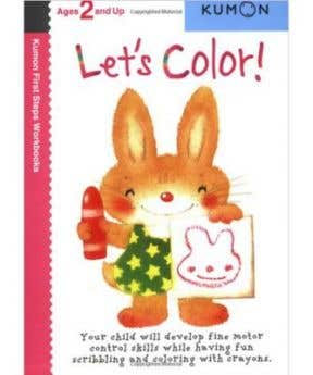 Kumon Let's Color! 2+ (First Step Workbooks)
