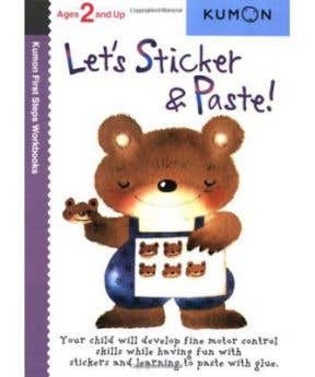 Kumon Let's Sticker Paste 2+
