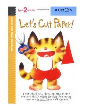 Kumon Let'S Cut Paper 2+