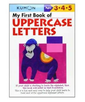 Kumon My First Bookof Uppercase Lette
