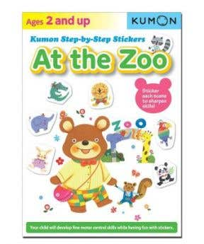 Kumon Step By Step Sticker: At The Zoo