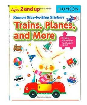 Kumon Step By Step Sticker: Train