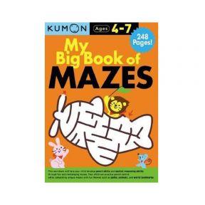 Kumon My Big Book Of Mazes Bind Up