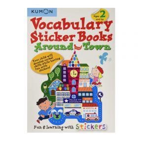 Kumon Vocabulary Sticker Books: Around Town