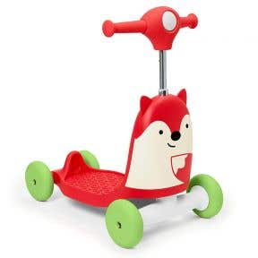 Skip Hop Zoo 3in1 Ride On Toy -  Fox