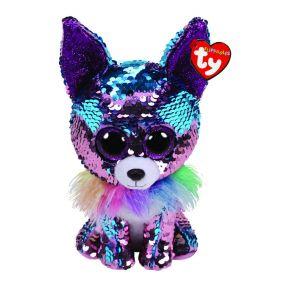 TY Toys Beanie Boos - Flippable Yappy The Purple Cihuahua Medium