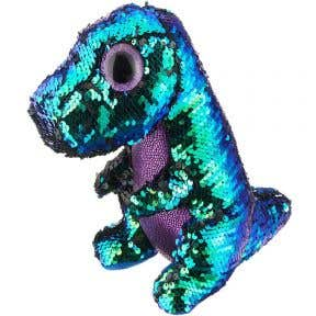 TY Toys Beanie Boos Flippables Crunc Sequin Dino