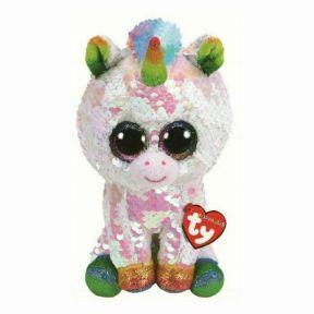 TY Toys Beanie Boos - Flippable Pixy The Unicorn Medium