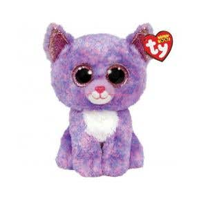 TY Toys Beanie Boos Cassidy Cat Lavender