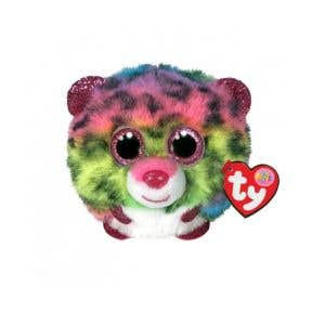 TY Toys Beanie Puffies Dotty Leo Multicoloured