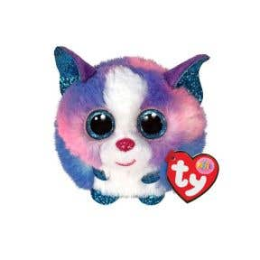 TY Toys Beanie Puffies Cleo Husky Multicoloured