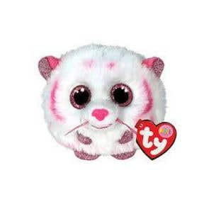 TY Toys Beanie Puffies Tabor Tiger Pink