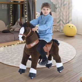 PonyCycle Chocolate Brown Horse - Large